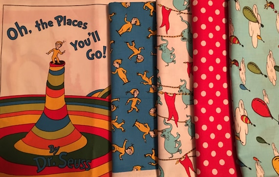 Original Dr Seuss Robert Kaufman Oh The Places Youll Go Etsy