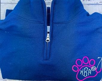 Veterinarian/ Vet Tech Monogramed sweater/veterinarian gift/ vet tech gift/ graduation gift/ monogram sweater/ Christmas gift/Christmas