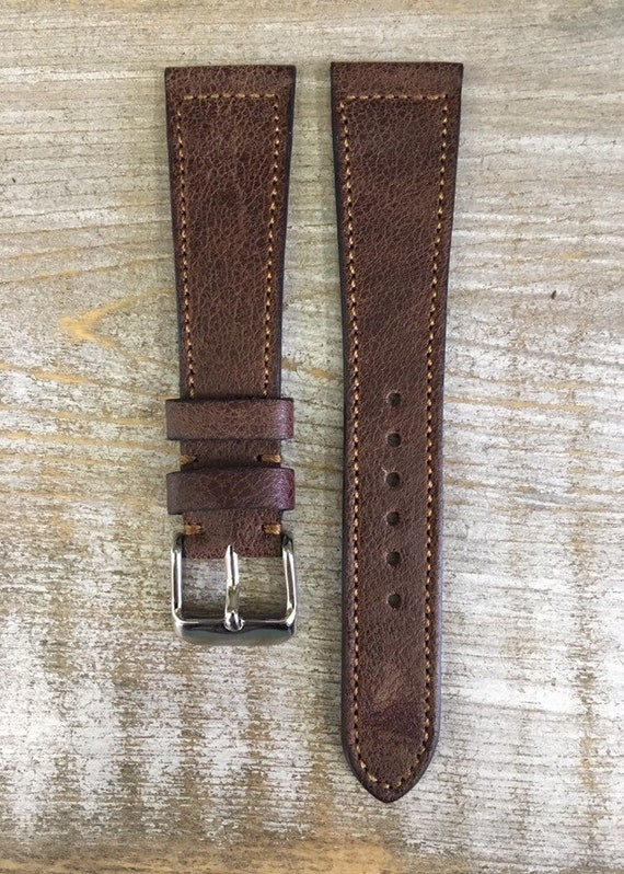 Vintage Leather watch strap - A1