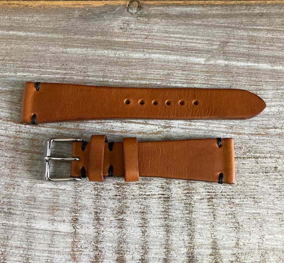 20mm Italian Calf watch band - Tan