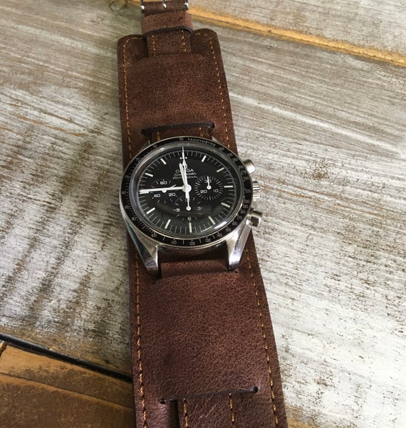 19mm Vintage Leather Paul Newman watch strap