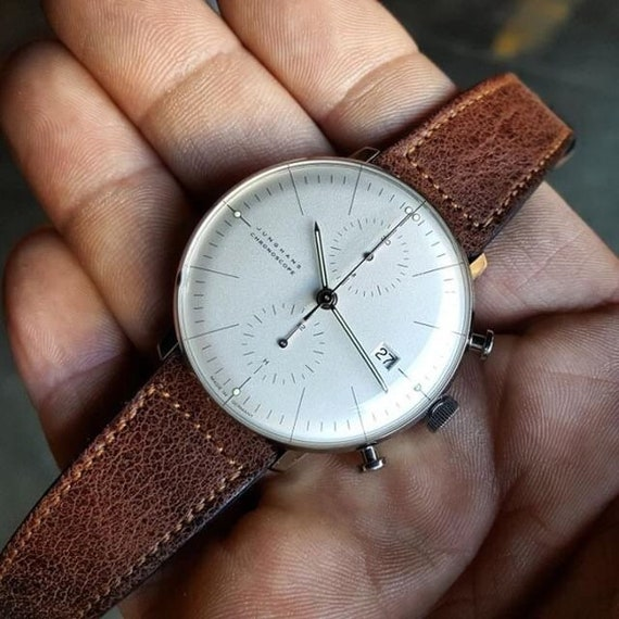 Vintage Leather watch strap