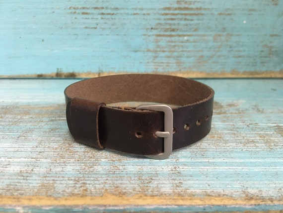 16mm Italian Calf 1 piece strap