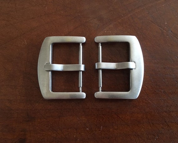 Brushed watch buckle