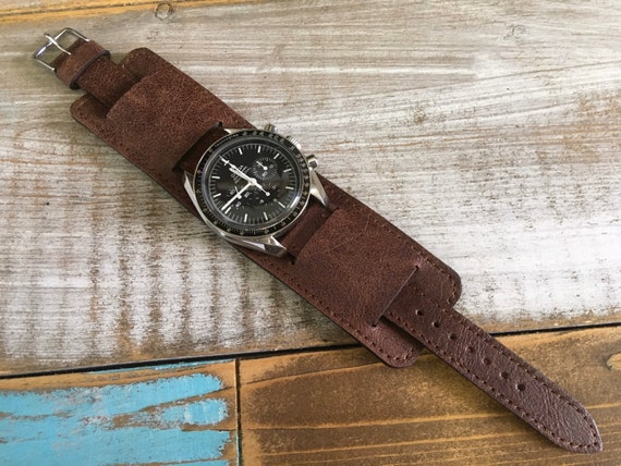 20mm Vintage Leather Paul Newman watch strap