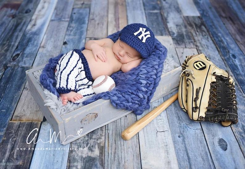 91e7823ad9d Baseball outfit Baby Baseball Cap pants crochet baby