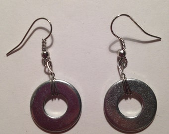Washer Earrings
