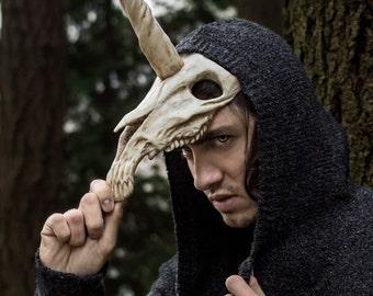 Unicorn Skull Mask