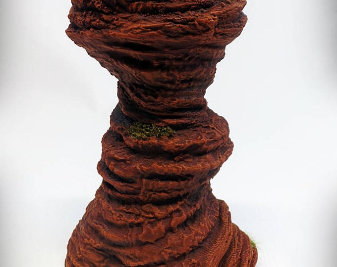 Wargame Terrain - Single Spire B – UNPAINTED kit - Miniature Wargaming & RPG rock formation terrain