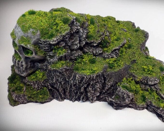 Wargame Terrain - Heathcliff – Miniature Wargaming & RPG rock formation terrain - 11x7.5x4.5 inches