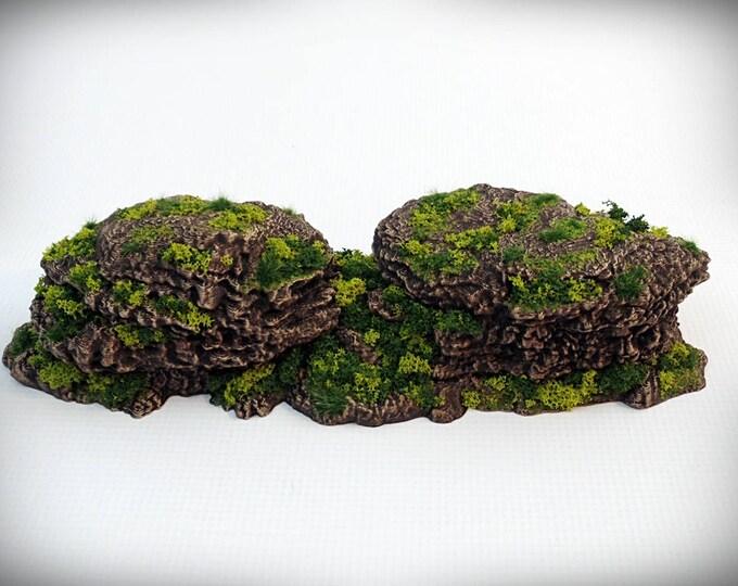 Sugarlumps - Print your own!- DIGITAL FILE – Miniature Wargaming & RPG rock formation terrain
