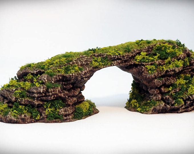Archie - Print your own!- DIGITAL FILE – Miniature Wargaming & RPG rock formation terrain