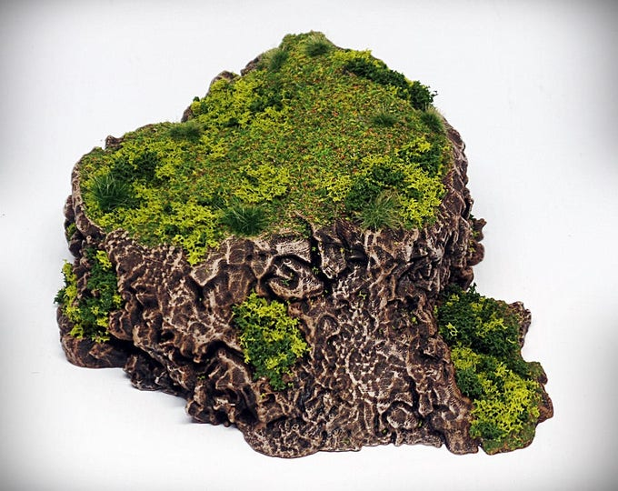 Stumpy - Print your own!- DIGITAL FILE – Miniature Wargaming & RPG rock formation terrain