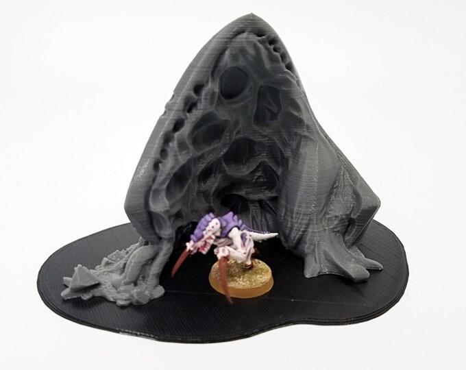 Wargame Terrain - Thorn Prime Mini– Miniature Wargaming & RPG alien infestation terrain