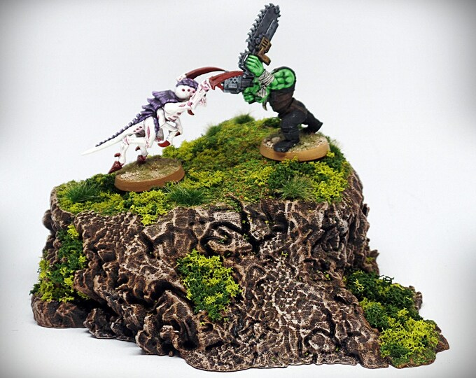 Wargame Terrain - Stumpy - Wargaming & RPG rock formation terrain - 6x4.5x2 inches