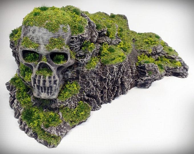Wargame Terrain - Heathcliff UNPAINTED terrain kit – Miniature Wargaming & RPG rock formation terrain