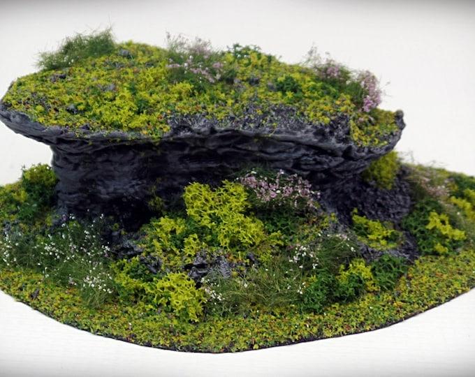 Wargame Terrain - STUB Outcropping B (DIGITAL FILE) – Miniature Wargaming & rpg terrain