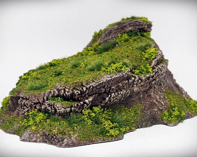 Lookout - Print your own! - DIGITAL FILE – Miniature Wargaming & RPG rock formation terrain
