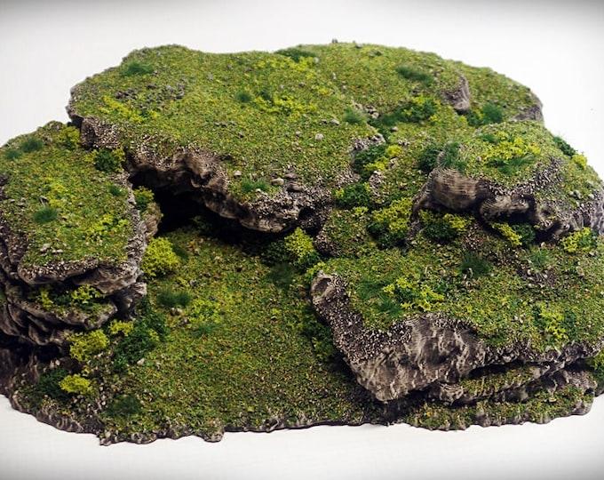 Stacks - Print your own!- DIGITAL FILE – Miniature Wargaming & RPG rock formation terrain
