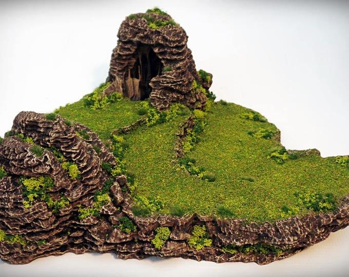 Frog - Print your own!- DIGITAL FILE – Miniature Wargaming & RPG rock formation terrain