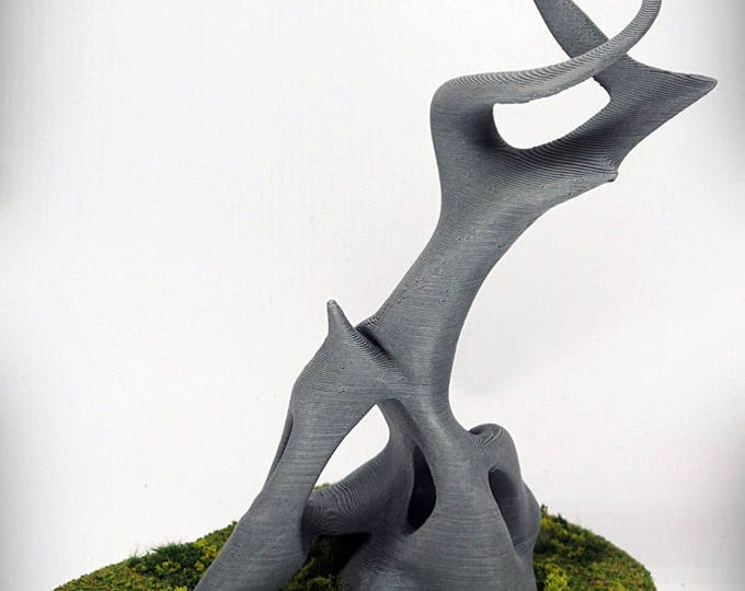 """Wargame Terrain - Stag (""""Ghost Stones"""") – UNPAINTED kit - Miniature Wargaming & RPG terrain - 6 inches (large version) / 5 inches (small)"""