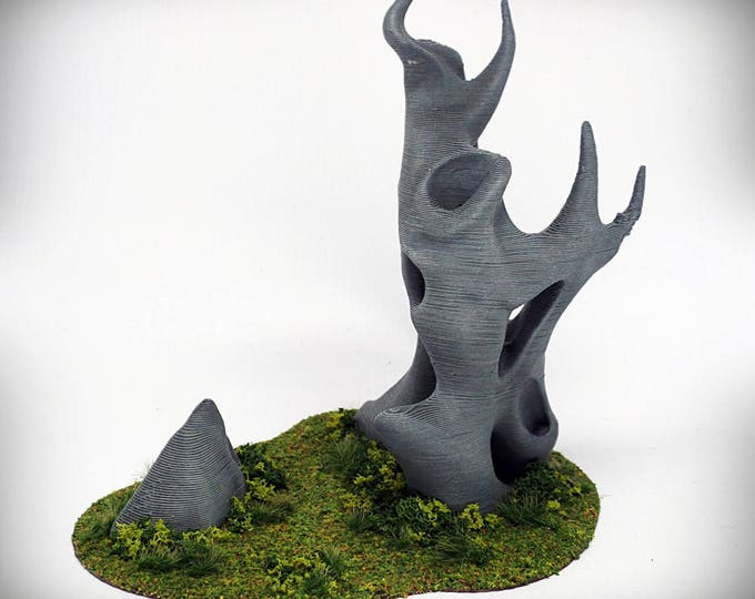 """Wargame Terrain -  Diablo (""""Ghost Stones"""") – UNPAINTED kit - Miniature Wargaming & RPG terrain - 6 inches (large version) / 5 inches (small)"""