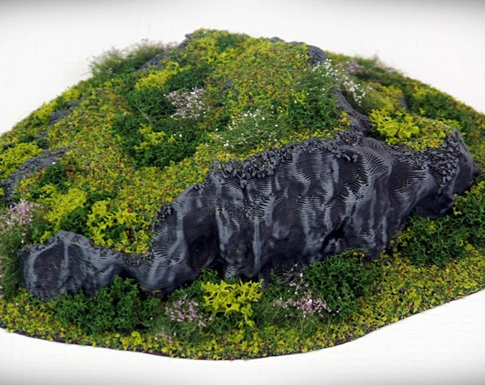 Wargame Terrain - STUB Outcropping-Piece Bundle (A-E, DIGITAL FILES) – Miniature Wargaming & rpg terrain