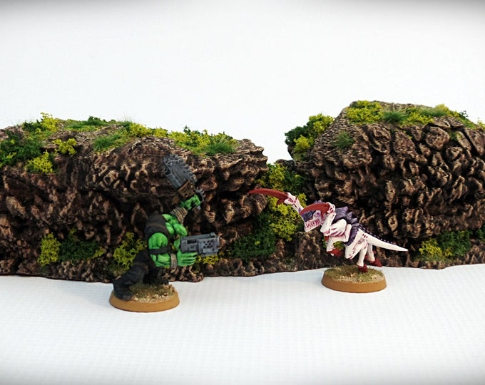 Wargame Terrain - Sugarlumps – Miniature Wargaming & RPG rock formation terrain - 10.5x3x2 inches