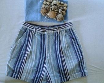 Striped Vintage Shorts
