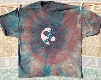 Grateful Dead Listen To The Music Play 3 XL 5.2 cotton Haynes crew neck T shirt