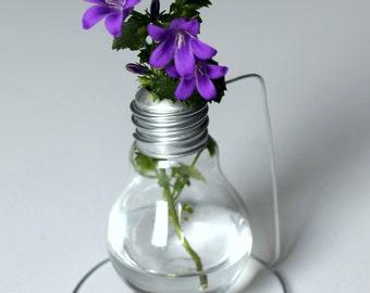 Edison, bulb vase for flower or mikado airfreshener