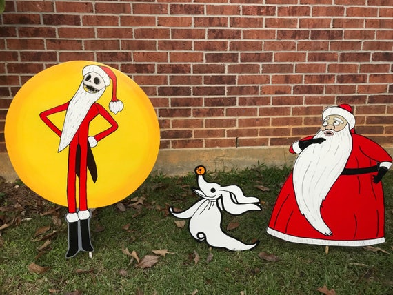 Nightmare before christmas stealing santa gift
