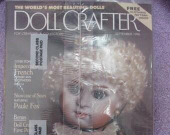 1 Still in Original Shipping Plastic Doll Crafter Magazine September 1996