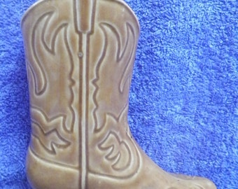 Cowboy Boot Planter Etsy