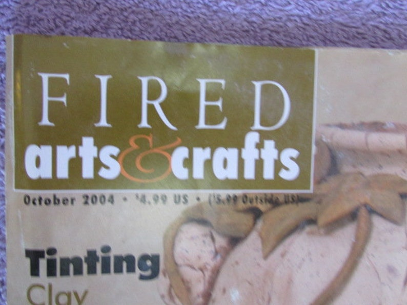 Fired Arts /& Crafts Magazine October 2004