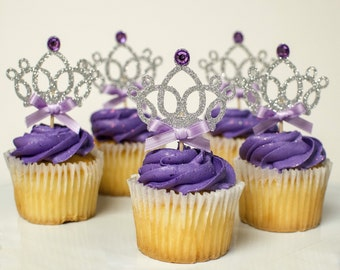 Sofia the first inspired cupcake toppers, sofia the first inspired cupcake toppers