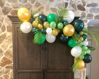 Balloon Garland DIY KitWild One PartyJungle Party ThemeSafari PartyFirst BirthdayWild First Birthday Boy GirlShades Of Green Decor