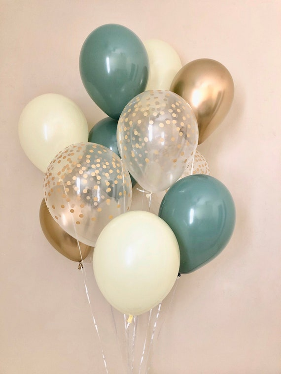 bridal shower balloon flamingo balloons jumbo gold silver confetti balloon wedding balloon metallic confetti balloon confetti balloons