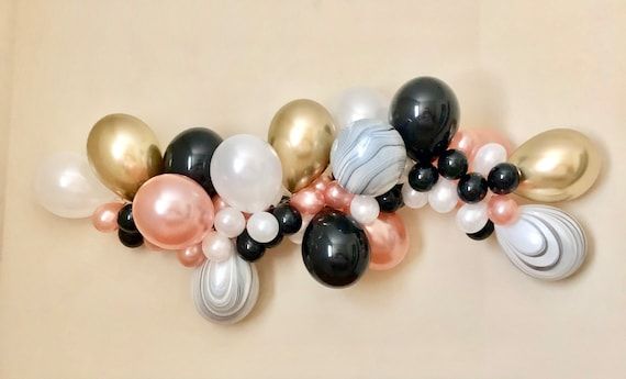 e138e7f3e4f Balloon Garland DIY Kit~Rose Gold