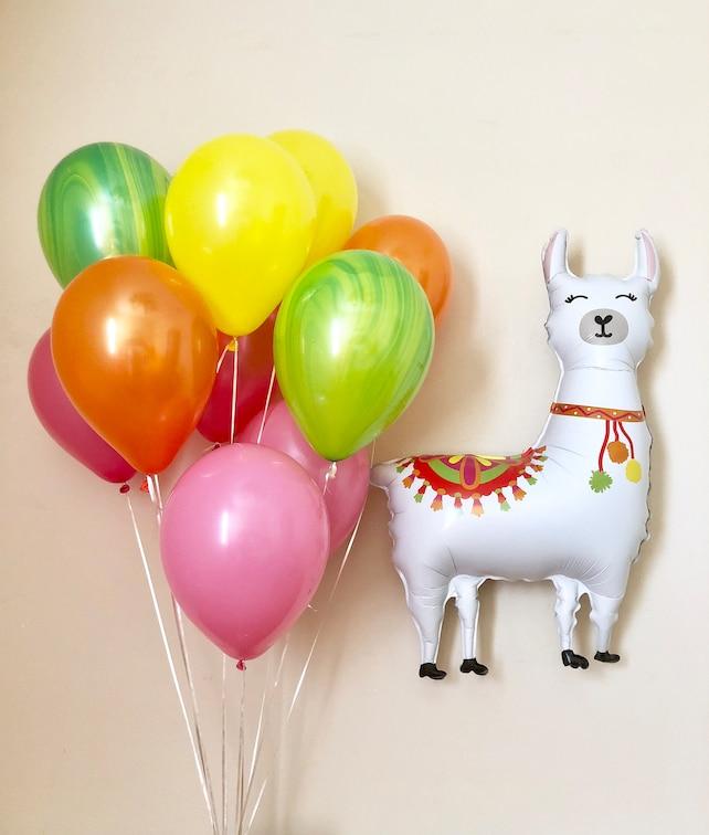Llama Balloon45 Inch LlamaLlama PartyLlama DecorationsLlama