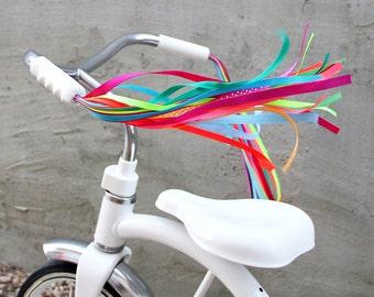 Bike Streamers - Handlebar Streamers for your Bike, Trike, or Scooter - Carousel Horse