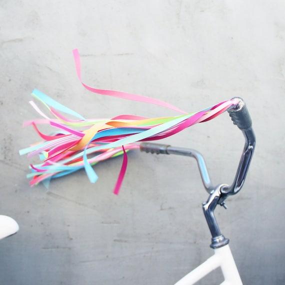 Bike Handlebar Grips Metallic color grip Streamers Grips TASSELS