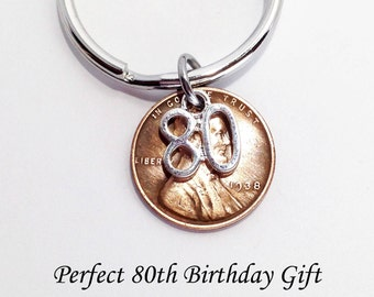 80th Birthday, 80th Birthday Gift for Dad, 80th Birthday Gift for Men, 80 Birthday Party, 1939 Birthday 1939 Penny, 80 Birthday Gift for Mom