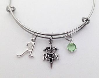 Nurse Graduation, Nurse Gift, Nurse Jewelry, RN Gifts, Graduation Gift for Nurse, Nurse Bracelet, Nurse Graduation Gift, Nurse Gift Ideas