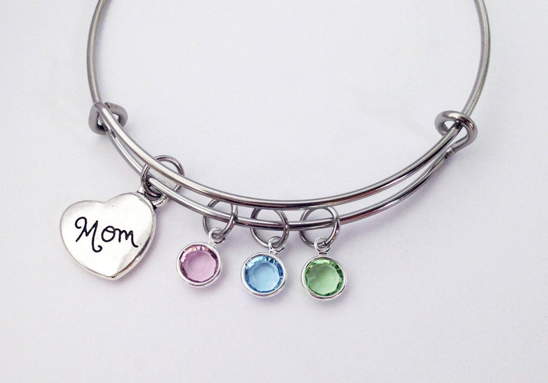 Mom Gifts Mothers Day Gift For Birthstone Bracelet