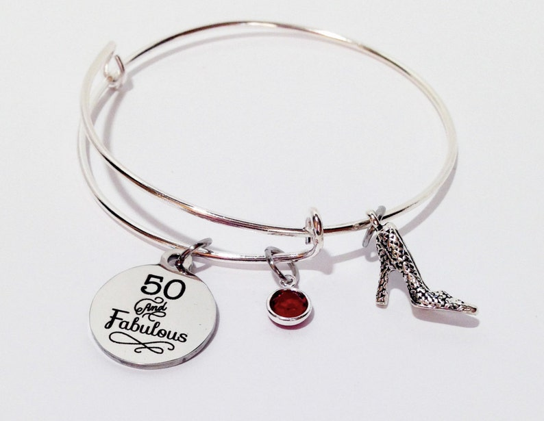 7553e6d492f2 50 and Fabulous 50th Birthday Gift 50 Birthday 50th Birthday