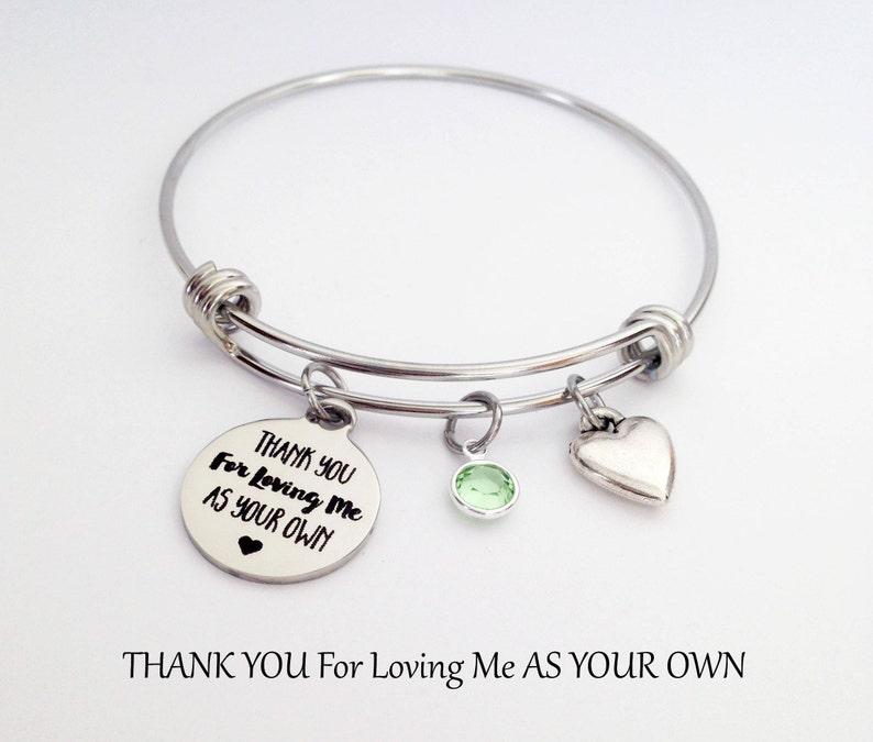 Stepmother Bracelet Stepmom Gift Birthday