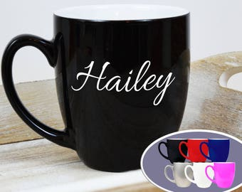 personalized coffee mug etsy