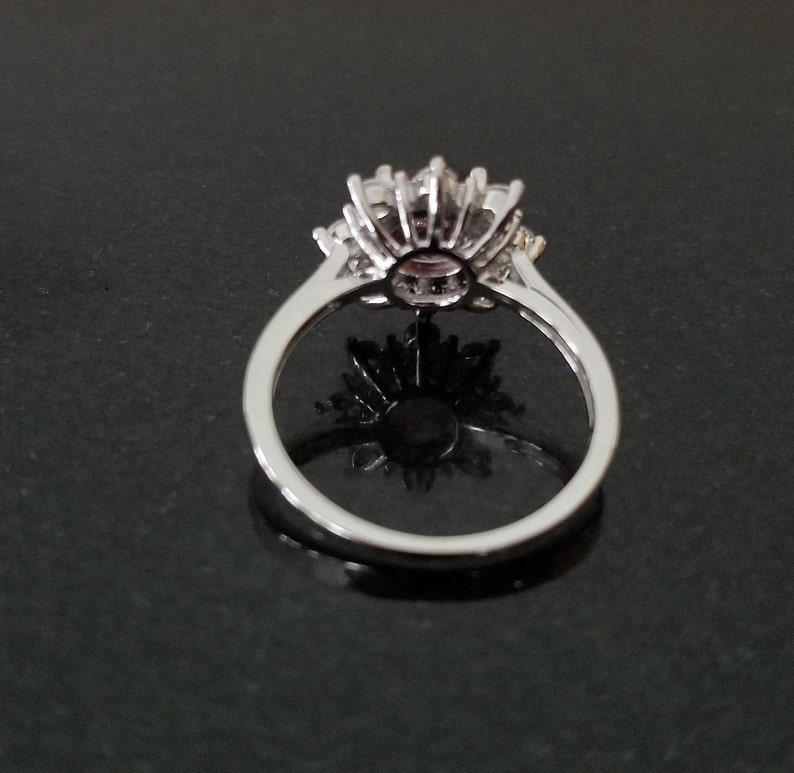 Diaspore ring Gorgeous High Quality  Color change stone Ring 925 Sterling Silver Beautiful Face Cut