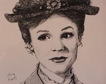 Mary Poppins Hut Etsy